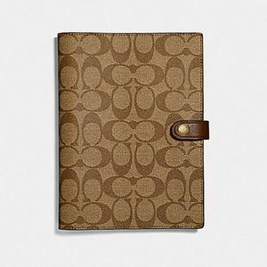 🎁Coach Notebook/Journal in Signature Canvas